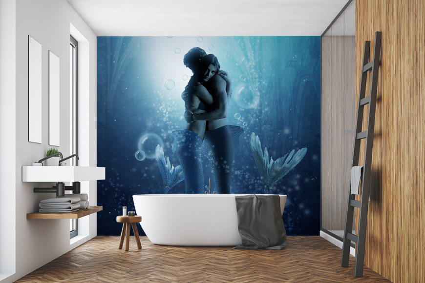 Pleasing 13 Bathroom Wall Murals To Inspire Wallbeard Download Free Architecture Designs Scobabritishbridgeorg