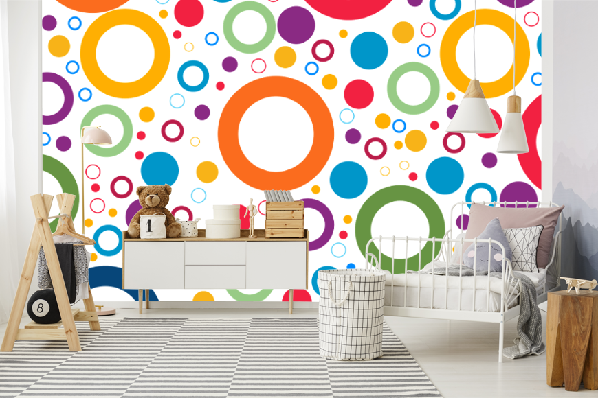 Going Round In Circles Wall Murals To Suit Wallbeard