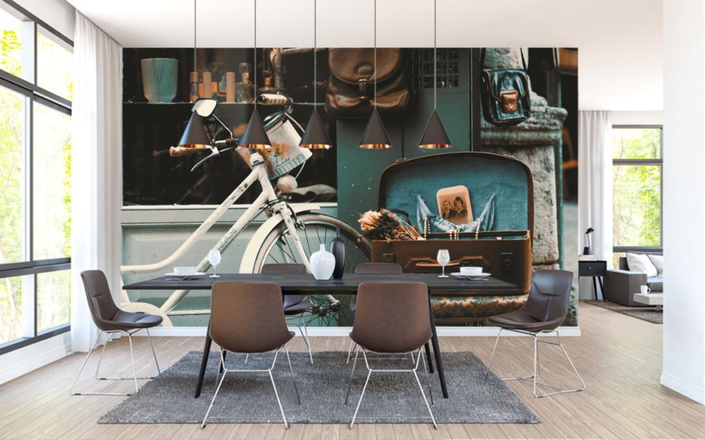 Street Life Wallpaper Murals